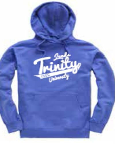 Ltu italics dark blue hood