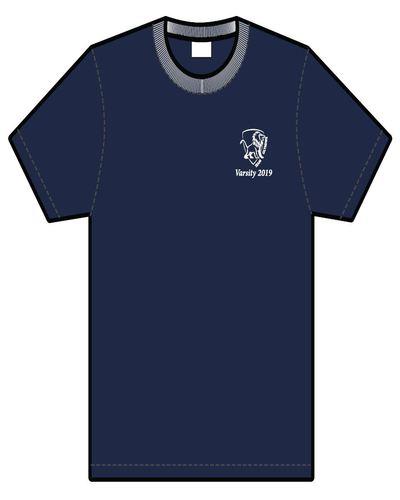Varsity 2019 t shirt   front