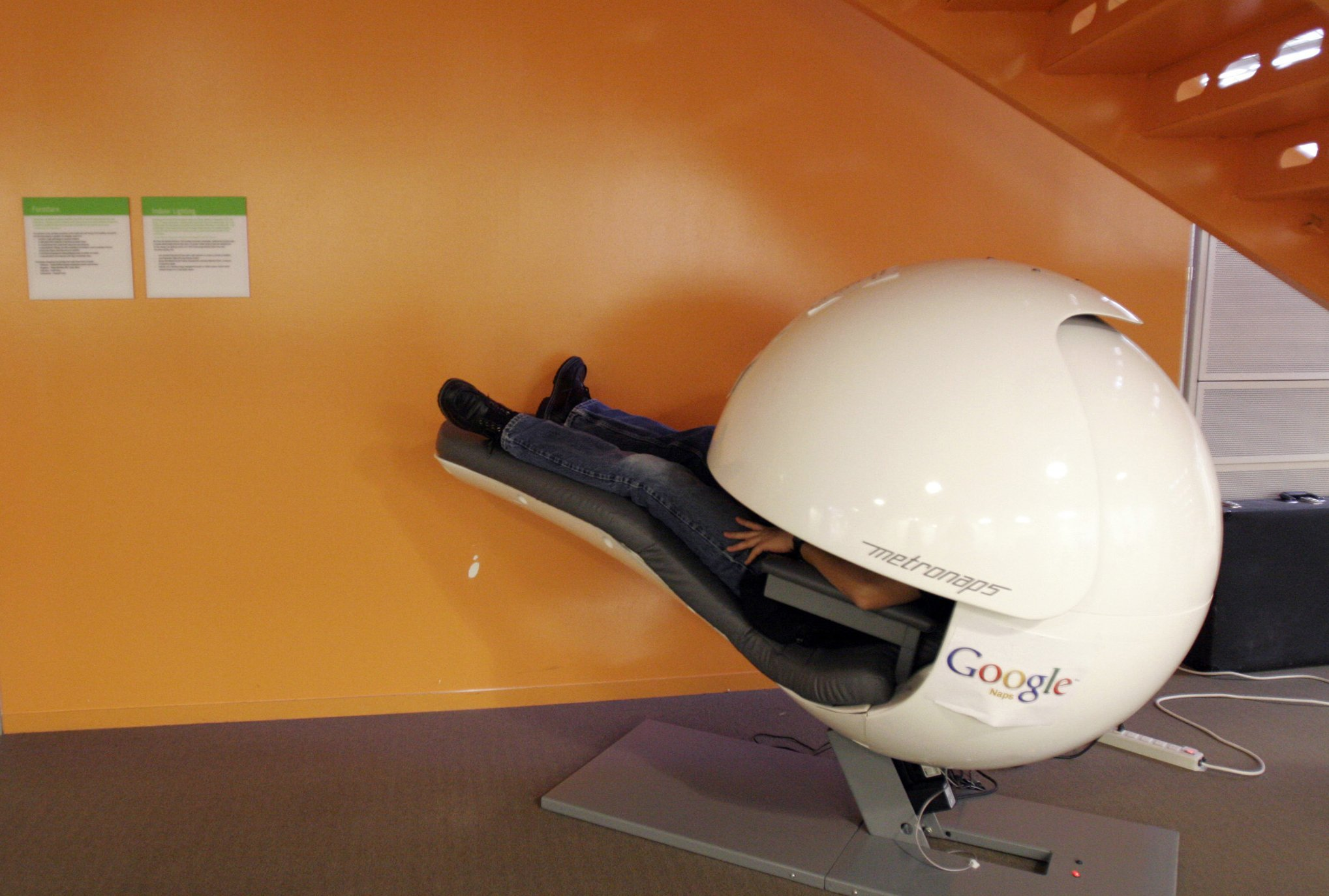Google sleep pod