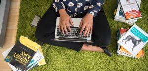 woman coding