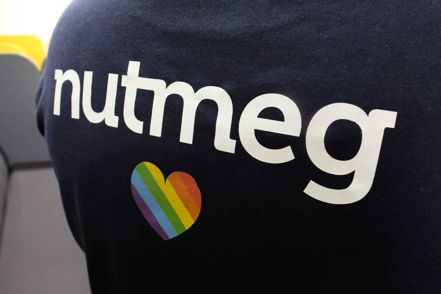 nutmeg t-shirt