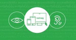 Accessibility at Nutmeg