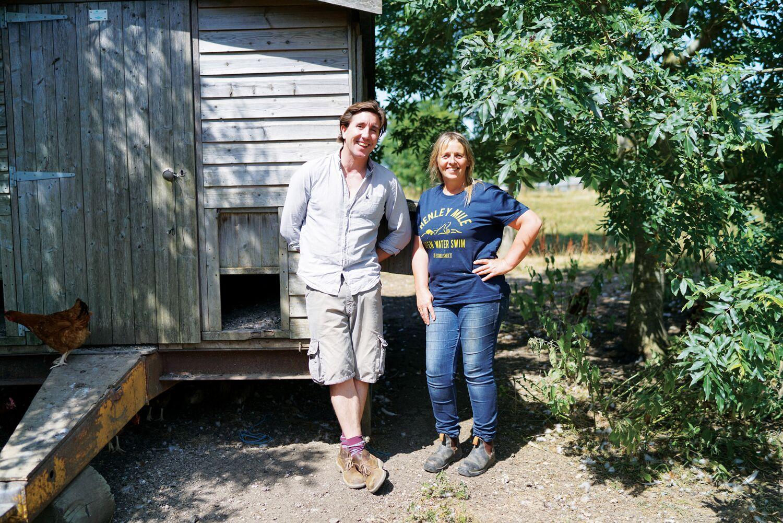 Ben Pugh Farmdrop CEO on site
