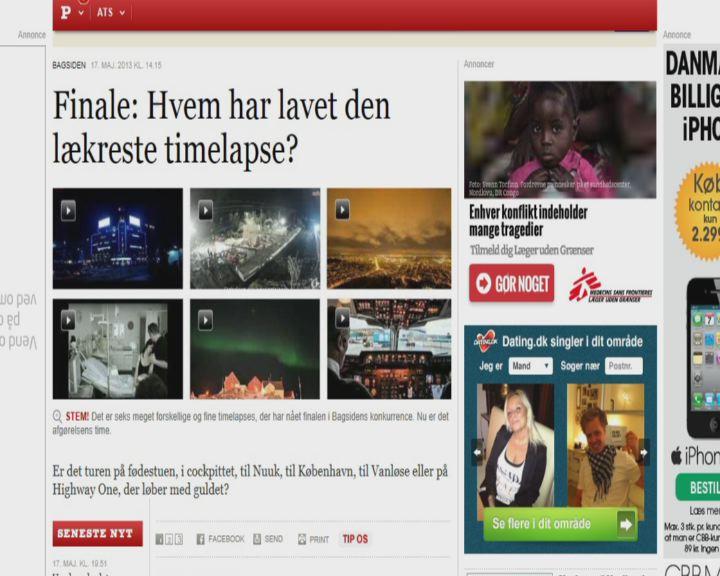 Timelapse fra Nuuk med i Konkurrence