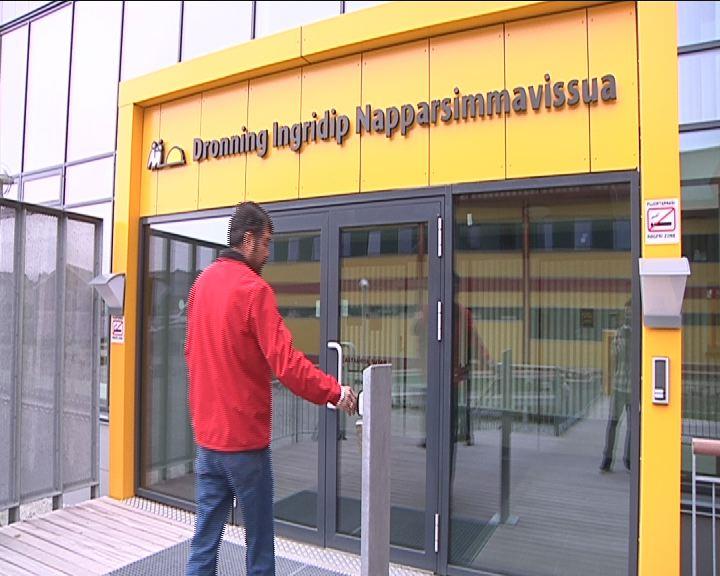 Ny hovedindgang til Dronning Ingrids Hospital