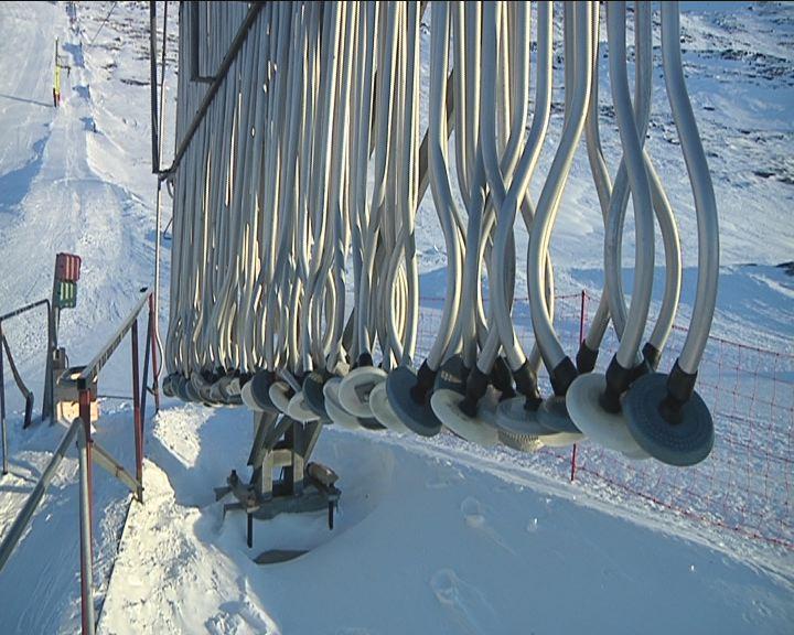 GrønlandsBanken sponsorer skiliften