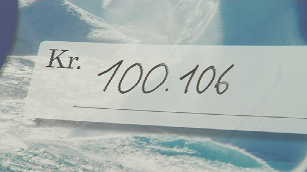 Over 100.000 kr. til indlagte børn