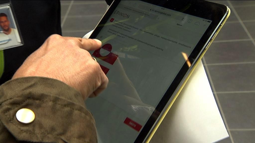 iPad som stemmebox