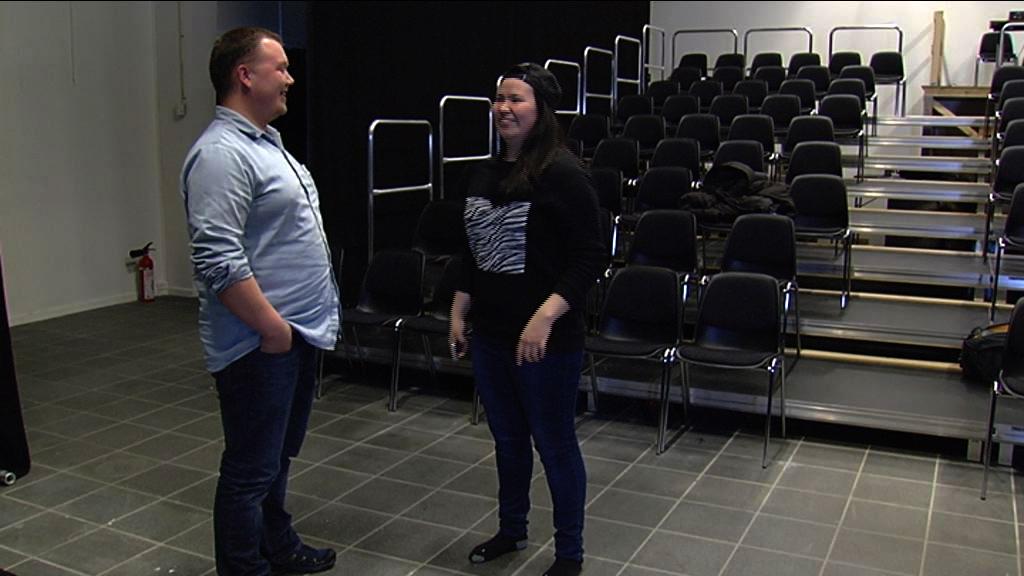 Dramatikere på workshop