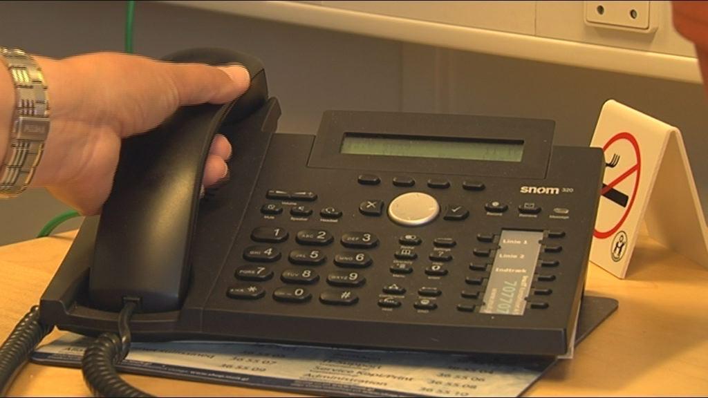 Præstegældet skepsis over telefonrådgivning