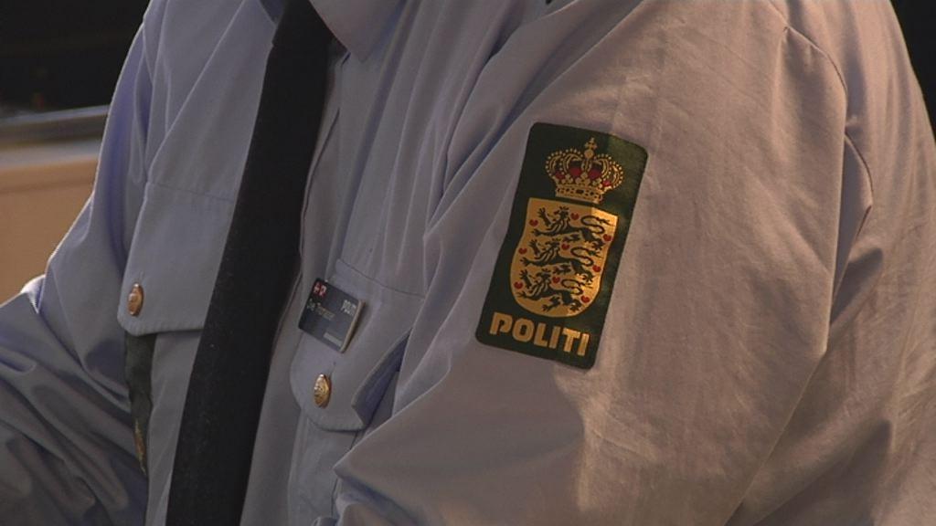 Politiet har haft travlt i weekenden