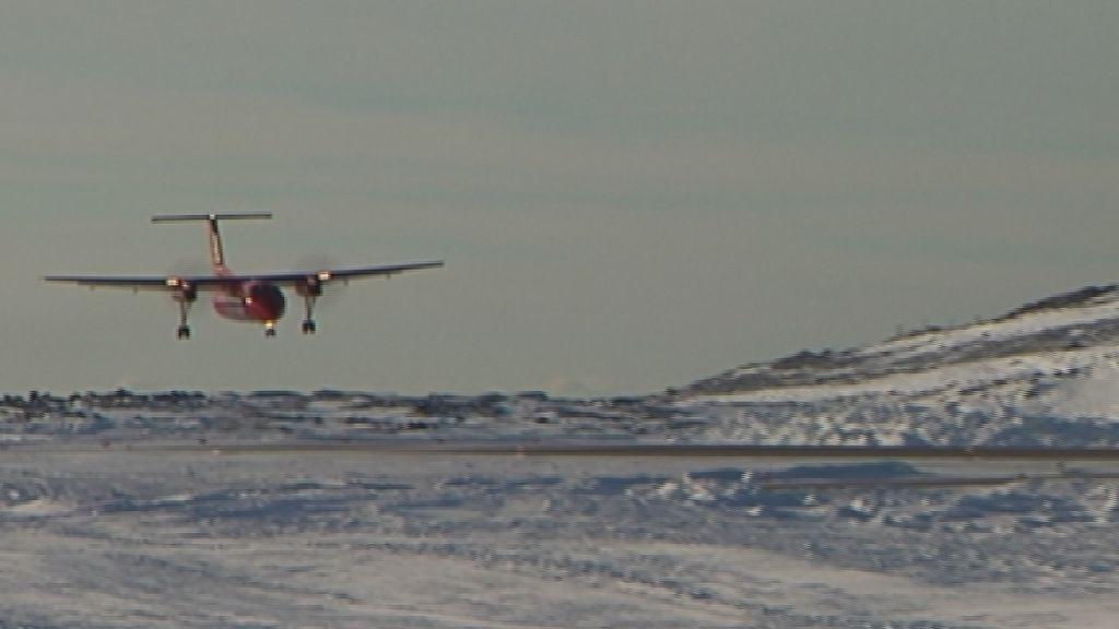 Lufthavn ved øerne i Nuuk