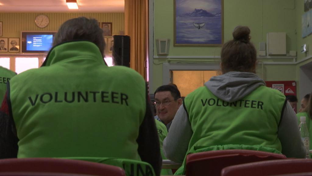 Mad til frivillige