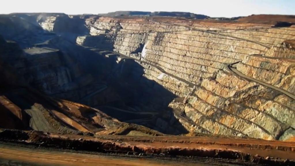 Uranoplysning faldt til jorden