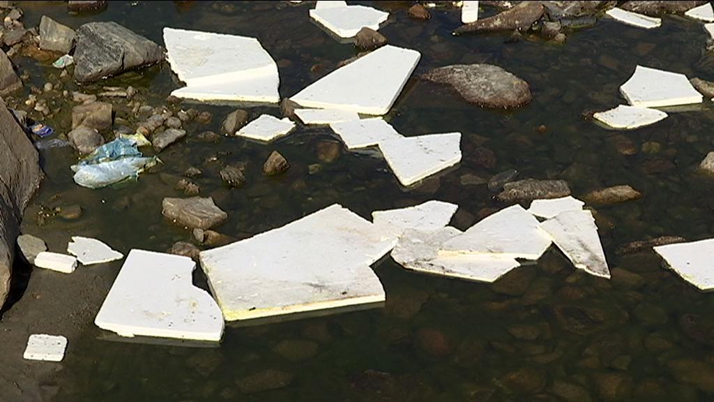 Stort affaldsproblem i naturen