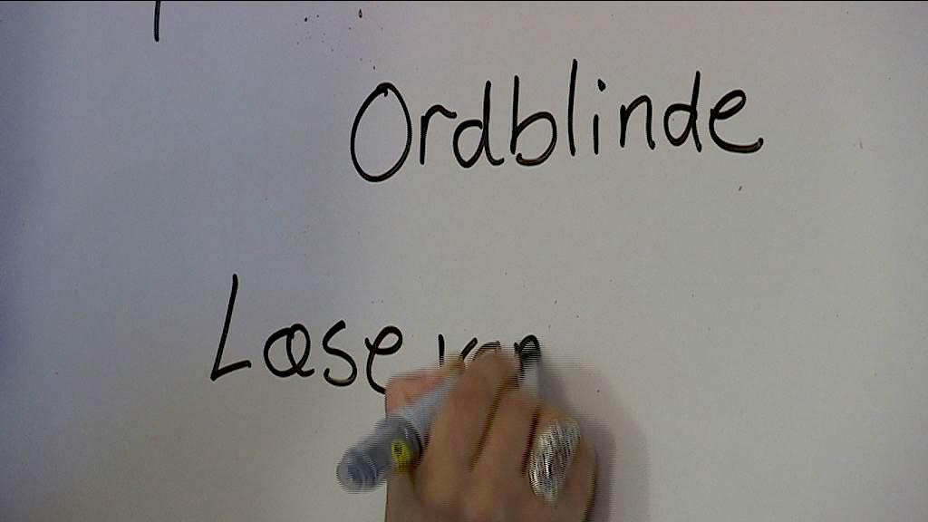 ordblinde