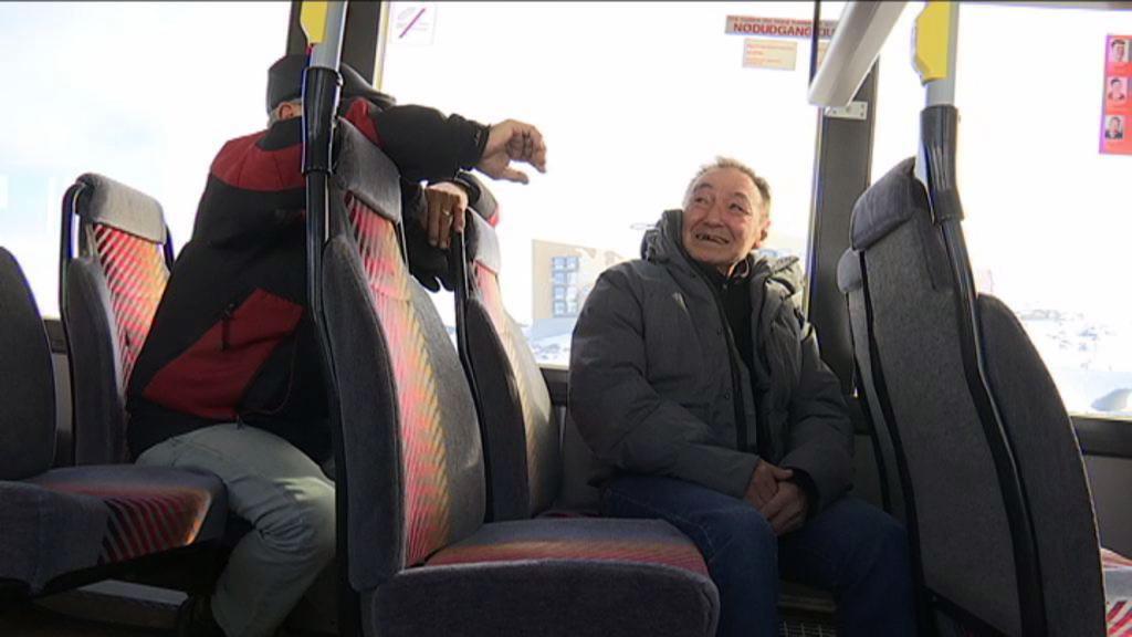 Vælgere i bussen