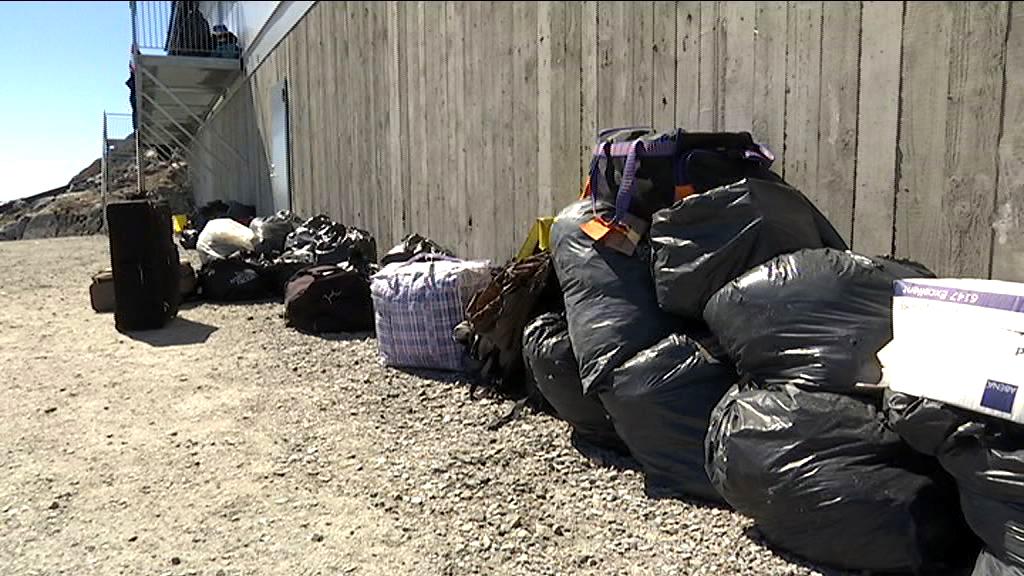 Hjemløses ejendele smidt ud