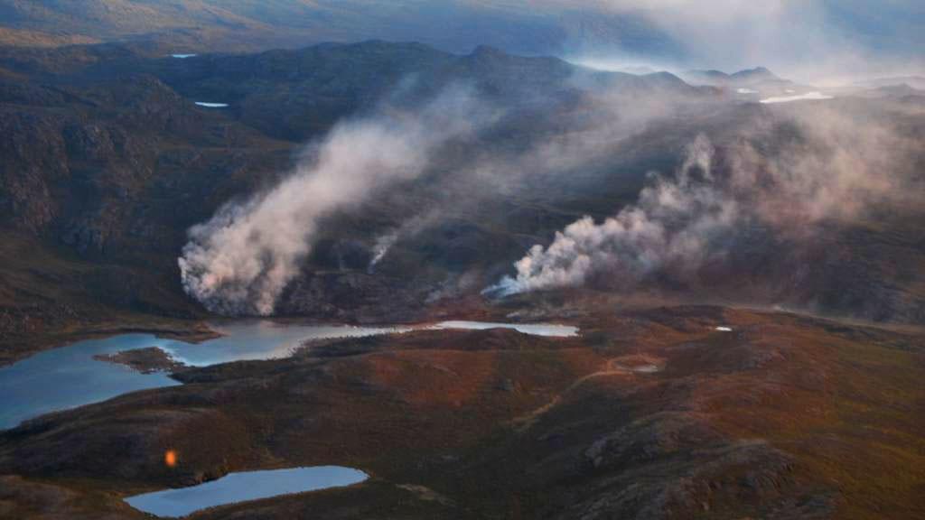 Amitsorsuaq-branden skal slukkes