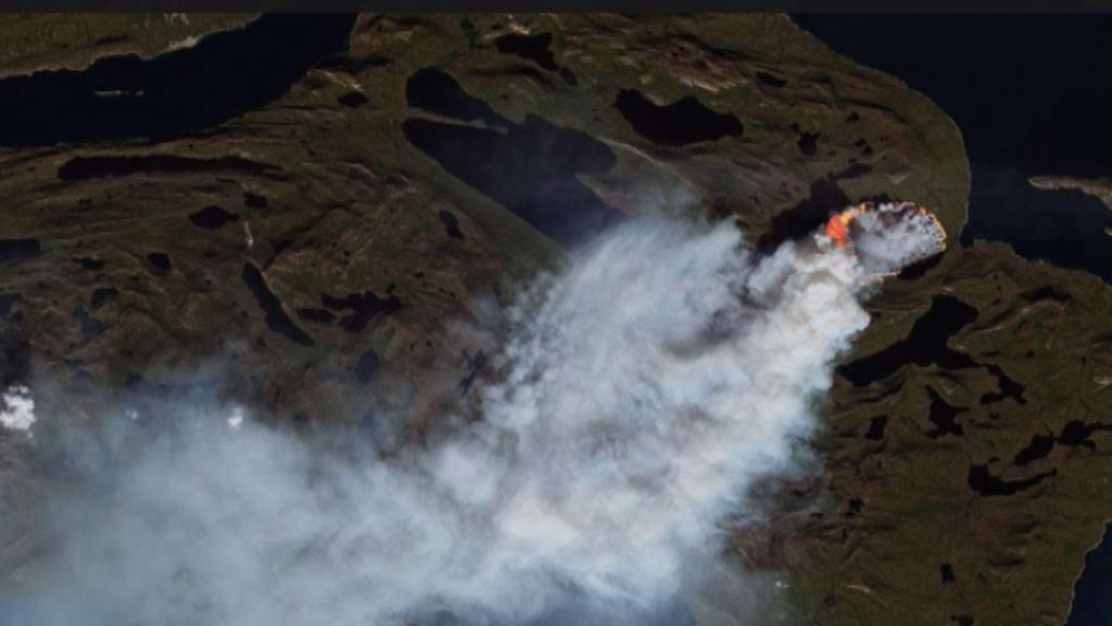 Naturbrandene fortsætter