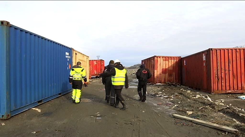 Herreløse containere