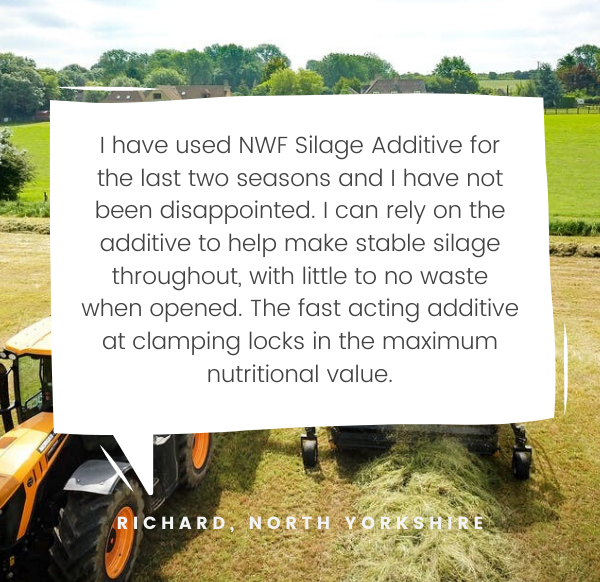 NWF Testimonial - Richard, Silage Additive