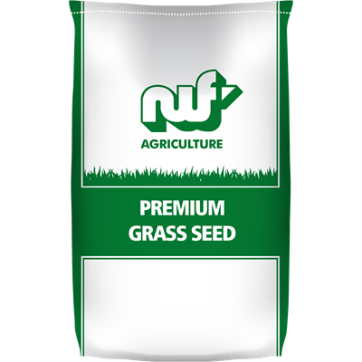 NWF Champion with clover grass seed