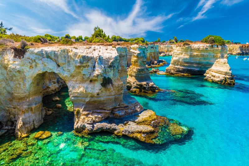 La top ten dei luoghi più belli del Salento