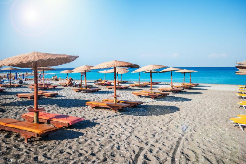 Le 5 spiagge piu' belle di Rodi