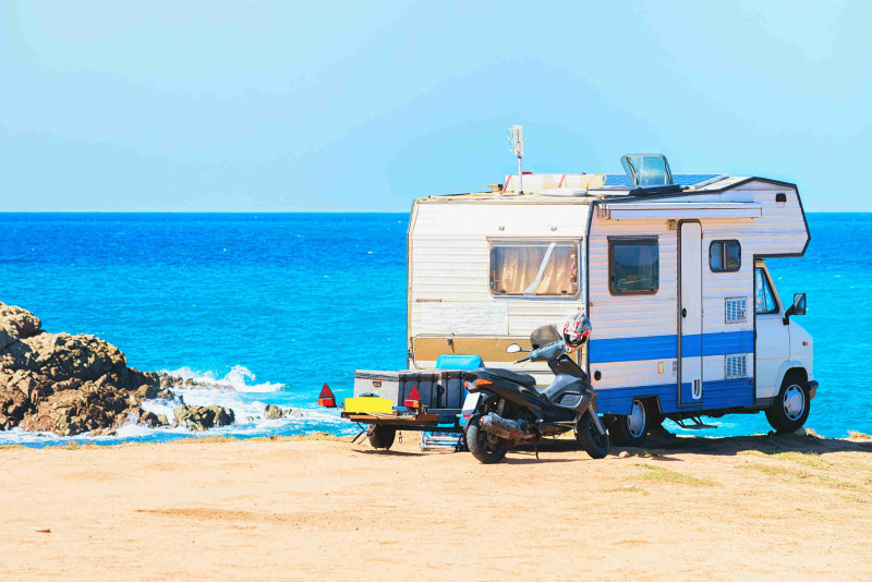 Come visitare la Sardegna in camper