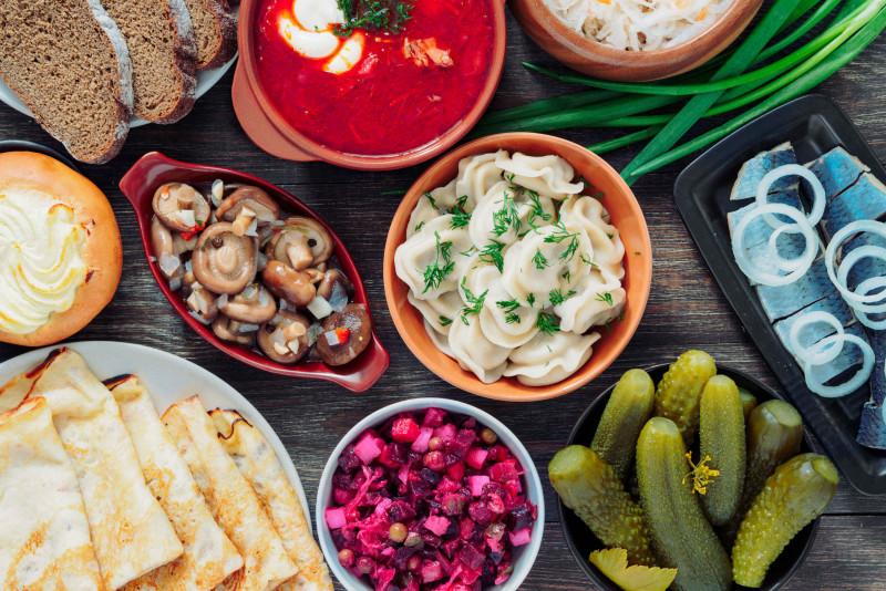 Russia: i piatti tipici russi