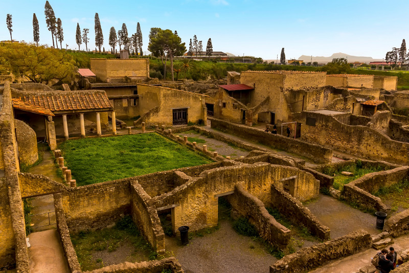 Come visitare gli scavi di Ercolano e Pompei