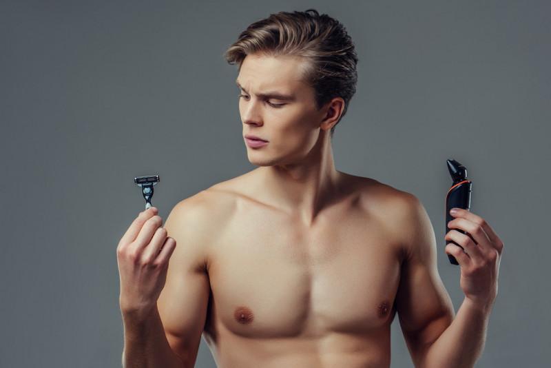 Come depilare l'inguine nell'uomo