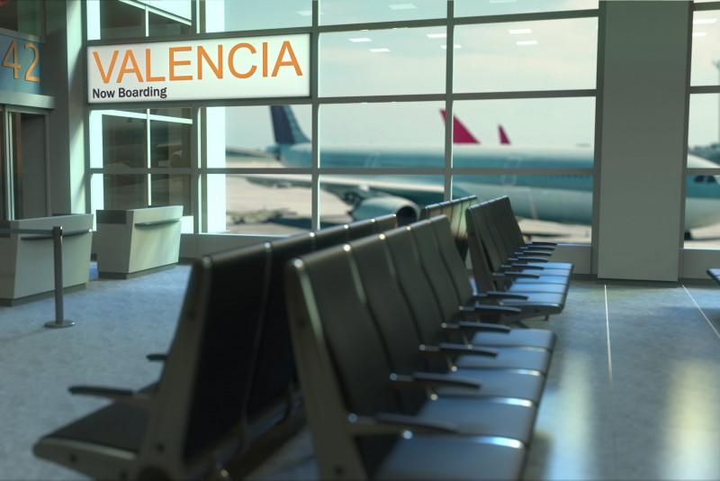 Come arrivare dall'aeroporto di Valencia al centro