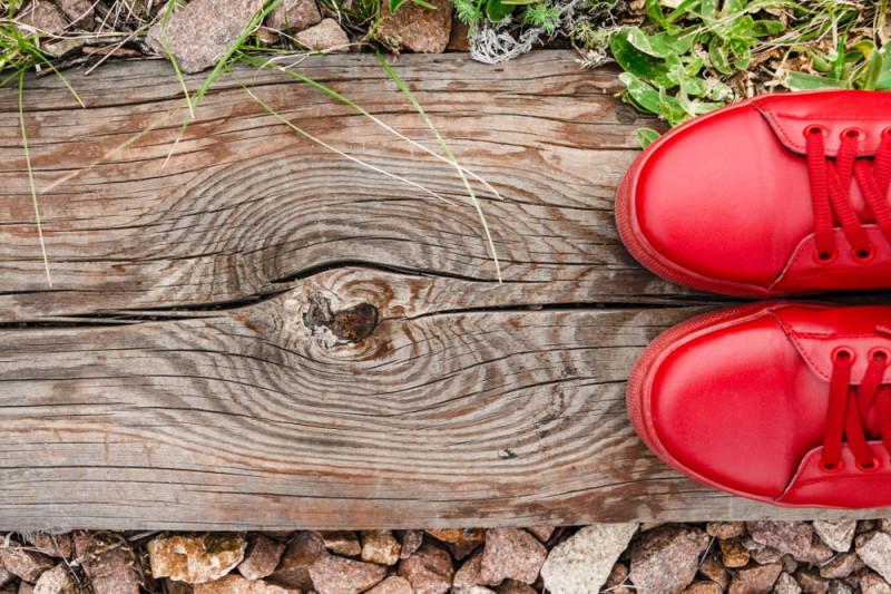 Come rinnovare e colorare le scarpe