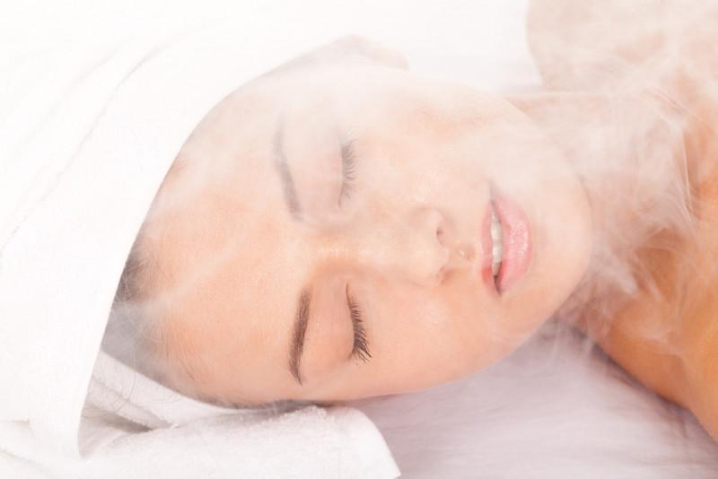 Come aprire i pori con il vapore
