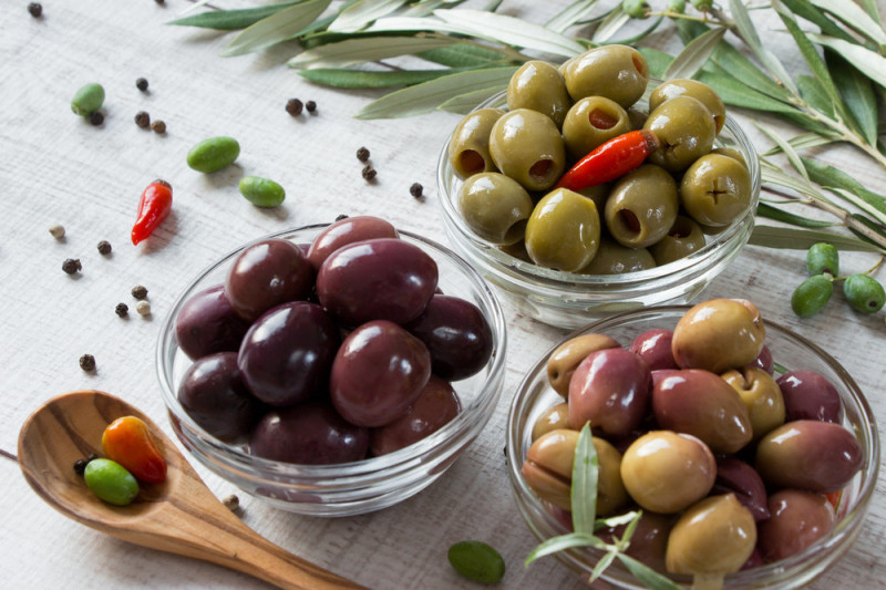 Come fare le olive sotto sale