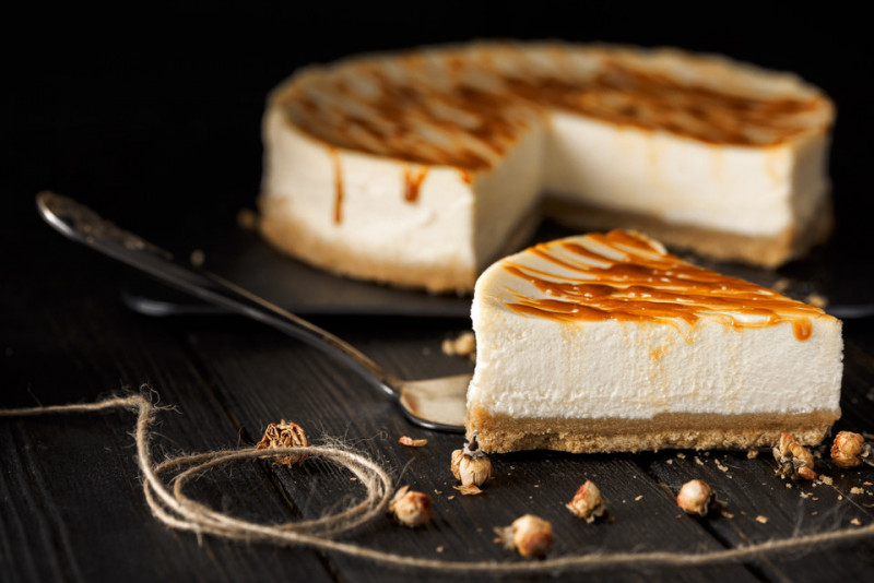 Ricetta: cheesecake fredda al mascarpone e panna