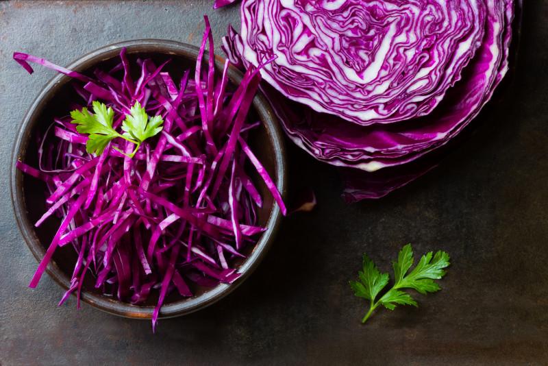 Come cucinare la verza viola