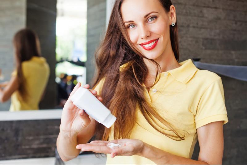 Come lavare a secco i capelli
