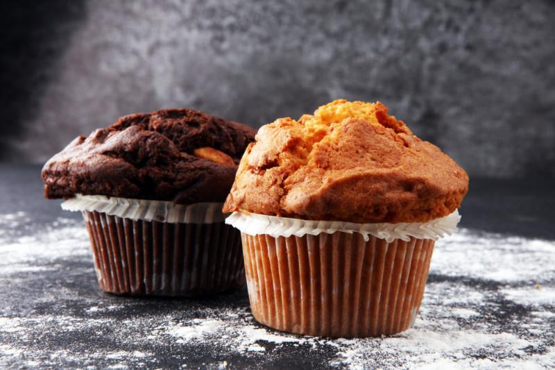 Come preparare i muffin senza burro