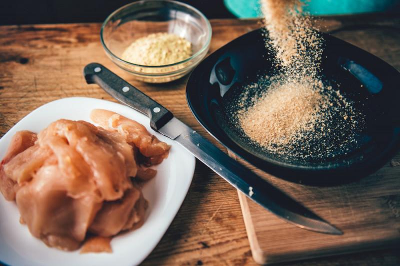 Ricetta della cotoletta senza uovo