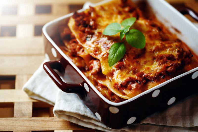 Come fare le lasagne al microonde