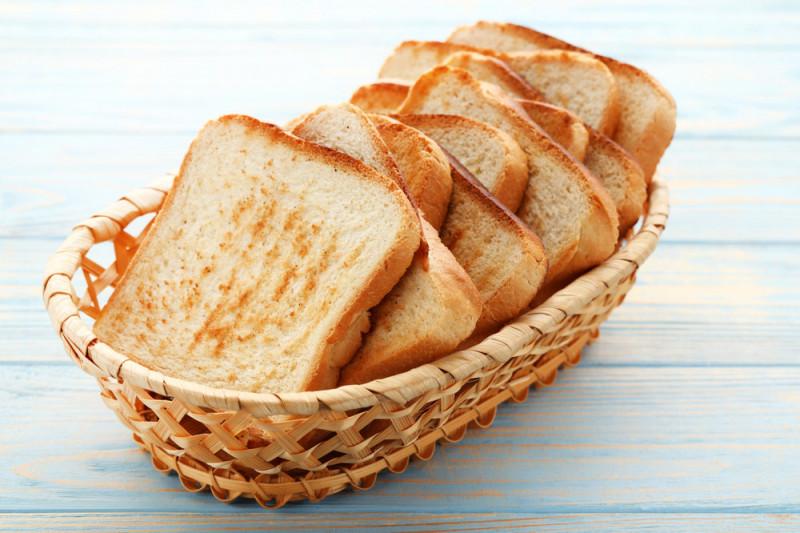 Come tostare il pane al microonde