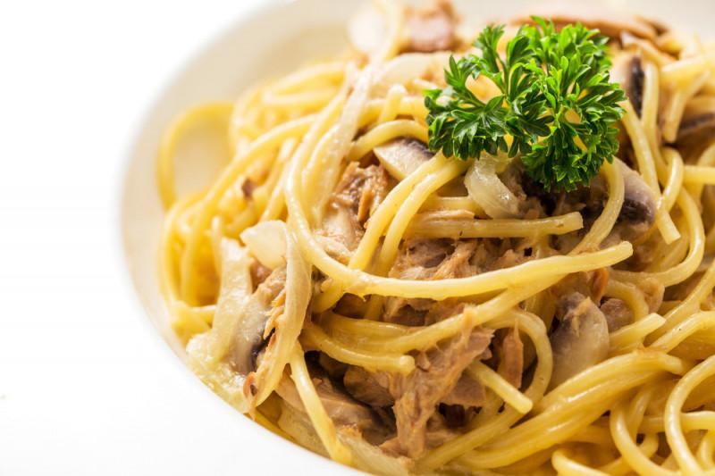 Ricetta: pasta con tonno e panna