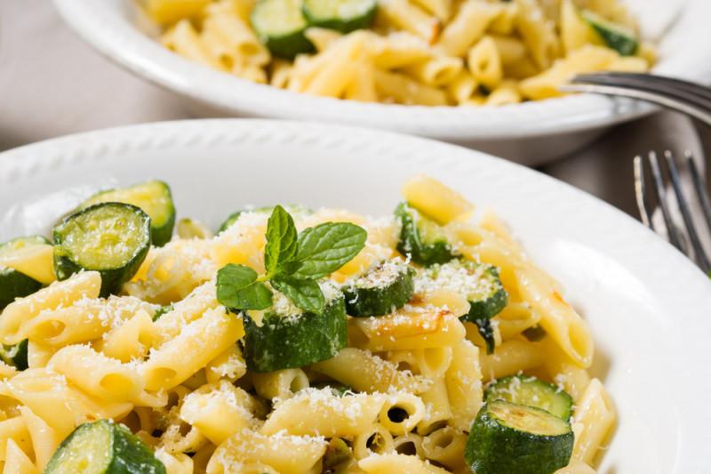 Ricette Bimby: pennette con zucchine