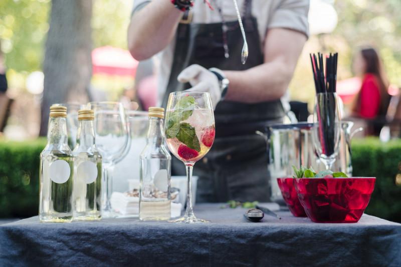 Cocktail alcolici con la frutta