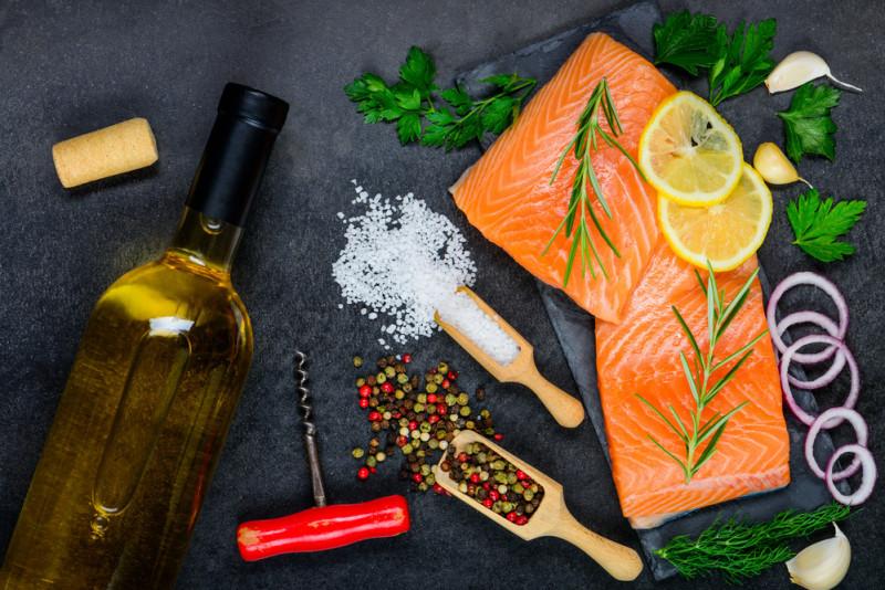 I migliori vini da abbinare al salmone