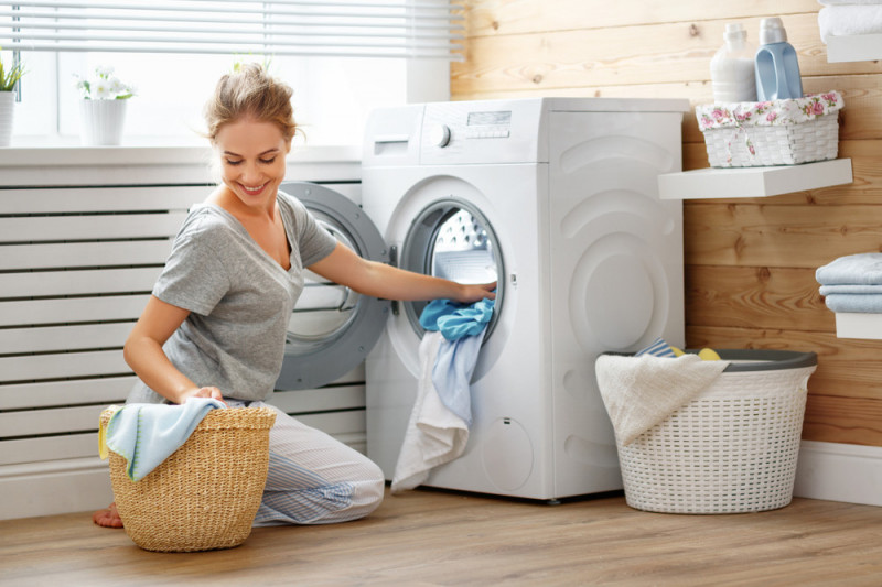 Come usare gli scomparti detersivo della lavatrice