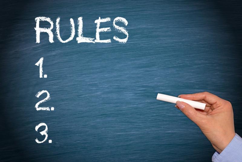 10 regole da adottare in classe